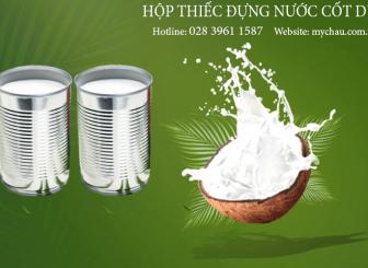 Sản Xuất Hộp Thiếc Đựng Nước Cốt Dừa